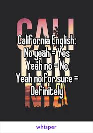 California English