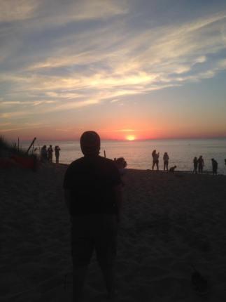 Sam at Sunset