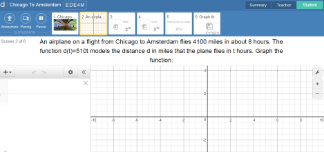 Desmos Tutorial Screen 1
