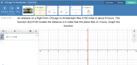Desmos Tutorial Screen 2