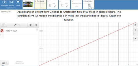 Desmos Tutorial Screen 3