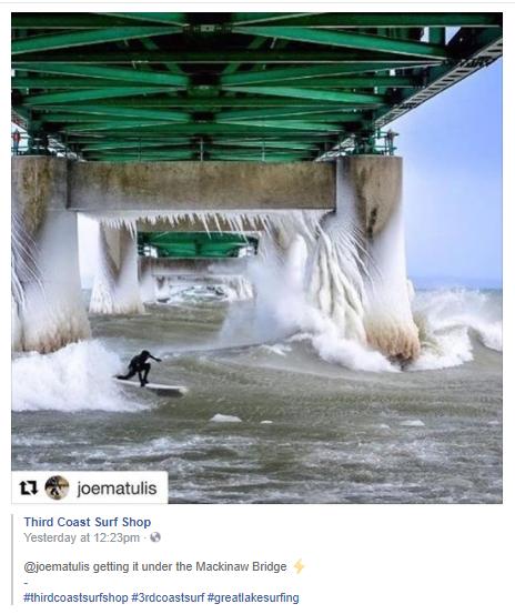 Surf Mackinaw