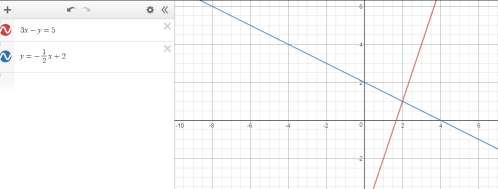 Desmos Systems example